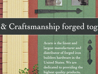 Craftsmanship forged together