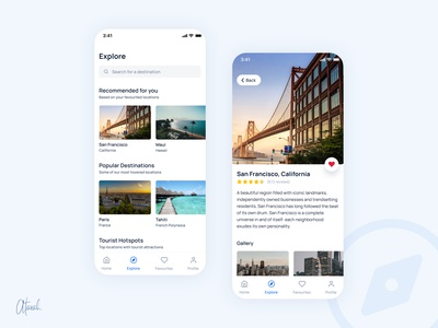 Travel App UI uidesign mobile app design figma figmaafrica app design travel app travel mobile app app ui app mobile ui user experience  ui ux design user interface ui uiux product design ui design