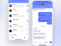 Chat App UI Design Concept