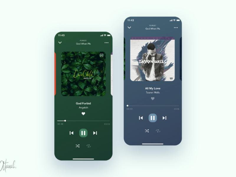Music Player UI Design ui ux design xd ux user interface user experience uiux ui design ui product design mobile ui mobile app minimal music player music app ui app design app adobexd adobe xd