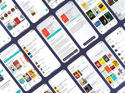 AnyBooks App Redesign Concept redesign  ui ux design ux user interface user experience uiux ui design ui product design book app book mobile ui mobile app minimal app ui app design app figma