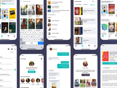 AnyBooks App Redesign Concept anybooks redesign  ui ux design ux user interface user experience uiux ui design ui product design book app book mobile ui mobile app minimal app ui app design app figma