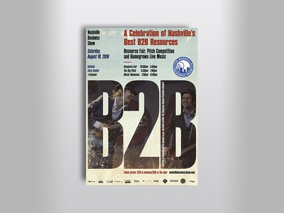 B2B poster idea