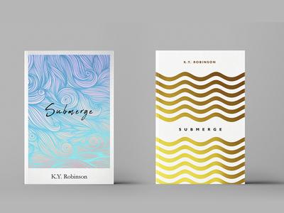 A book cover ideas for Submerge novel