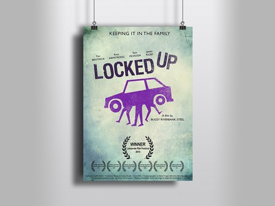 Movie poster idea for Locked Up