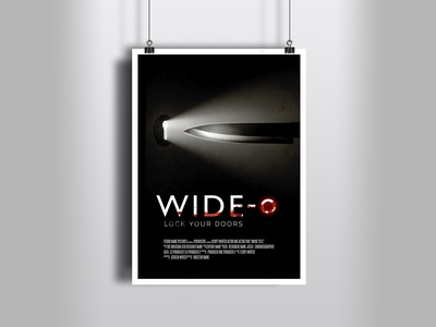 Movie poster idea for WIDE-O