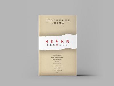 Book cover idea for SEVEN SECONDS