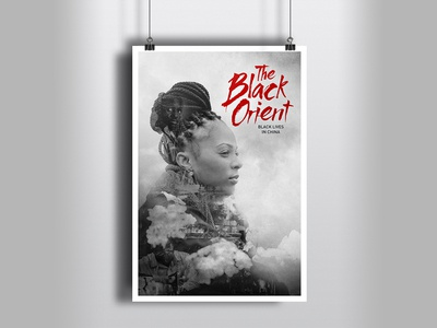 A poster idea for movie The Black Orient