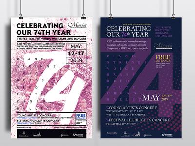 Poster ideas for music festival