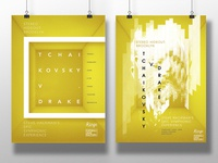 Poster ideas for a music event