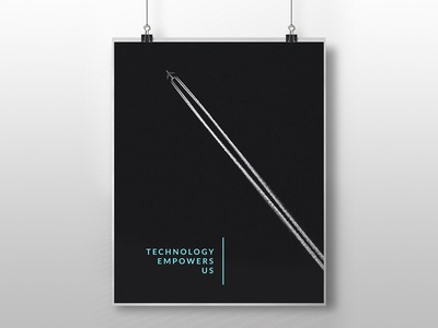 A business poster idea for a company.