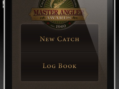 Master Angler iPhone App