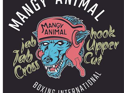 Mangy Full Col 2x 100 vector graphic design illustraion