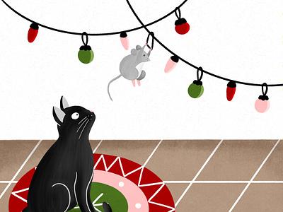 Christmas Crime christmas procreate ipad