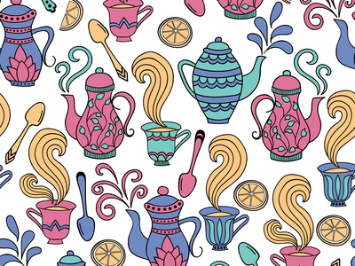 Tea Set pattern