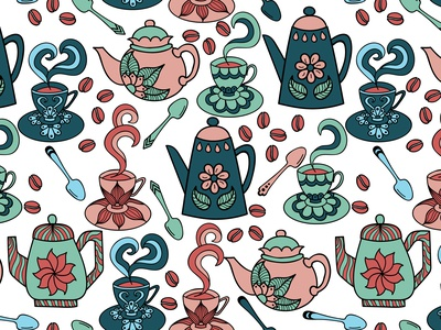 Coffee Set pattern