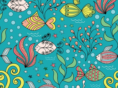 Fishes pattern