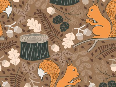 Squirrel Pattern