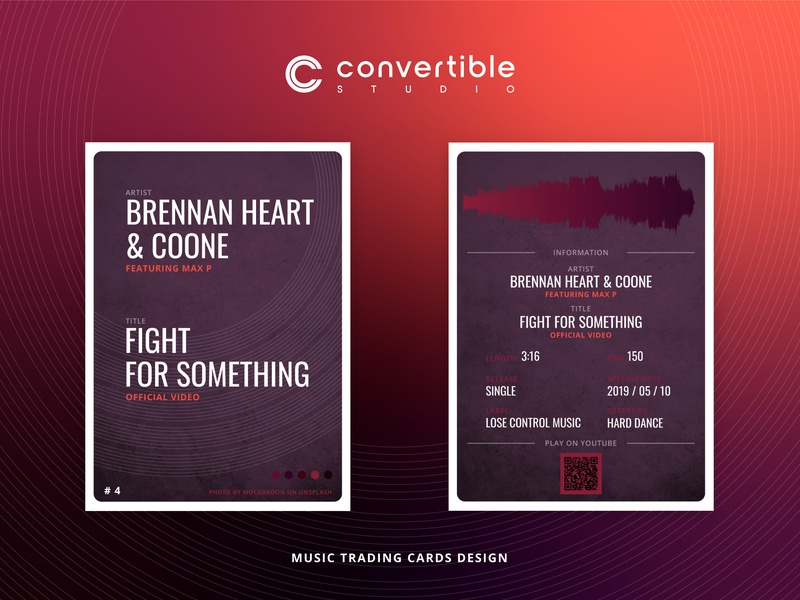 Brennan Heart - Coone / Fight For Something