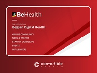 #BeHealth - Roll-Up banner design