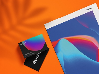 Re-branding business cards and publication