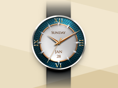 Smartwatch watch face