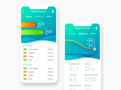 App - Weight Management