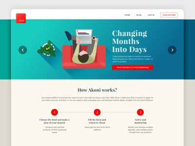 Web Design - Akoni Hub