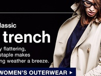Gap Women Trench Coat Email