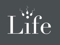 Life - Typography