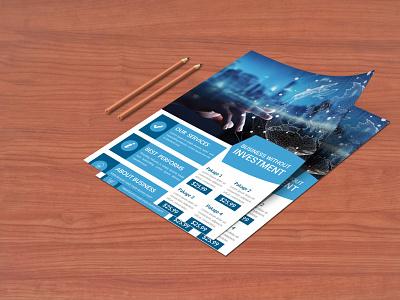 Flyer Design (V-04) business card businesscard stationary design illustrator typography illustration graphic design branding