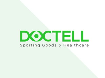 Doctello LOGO stationary design illustrator illustration logo design typography branding graphic design healthcare health app health doctello logo doctello logo