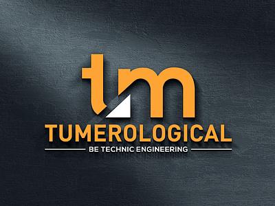 TUMEROLOGICAL LOGO stationary design illustrator logo clean illustration design typography branding graphic design tumerological logo