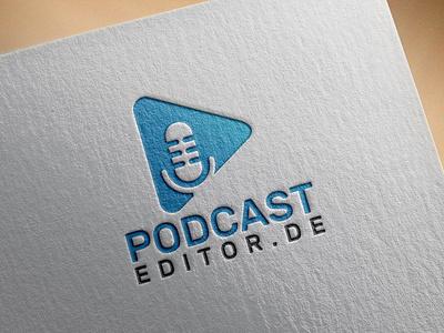 PODCAST LOGO stationary logodesing business card businesscard stationary design design illustration typography graphic design branding podcast logo