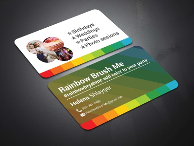 BUSINESS CARD DESIGN (V-14) animation business card businesscard clean logo illustration design typography graphic design branding