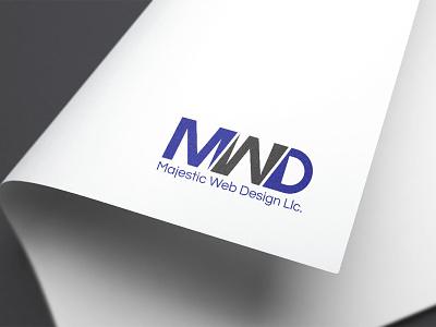MAJESTIC WEB DESIGN LLC. businesscard business card design illustration stationary design branding typography logo graphic design majestic web design llc. majestic web design llc.