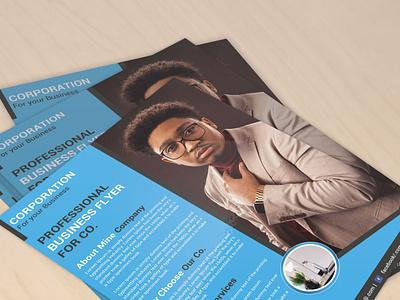 Flyer Design (V-02) stationary design businesscard business card logo design illustration typography branding graphic design flyer design template flyer design