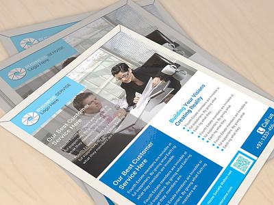 Flyer Design (V-03) business card stationary design businesscard logo design typography branding graphic design flyer design template flyer designs flyer design
