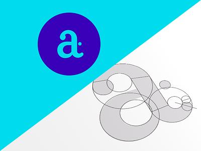 New Logo! blue monogram t a identity logo