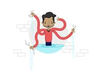 Maintenance Page Illustration