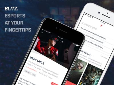 Blitz - Esports at your fingertips.