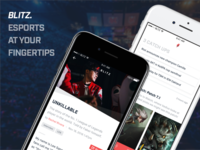Blitz - Esports at your fingertips.