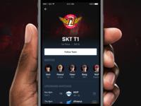 Blitz: Team Page