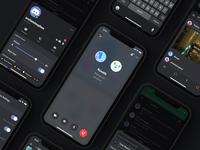 iOS Voice Call Redesign