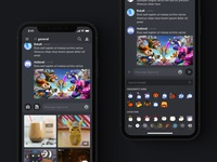 iOS Media & Emoji Picker