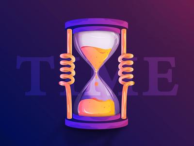 Liquid Time clock!