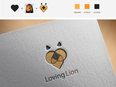 Loving Lion logo