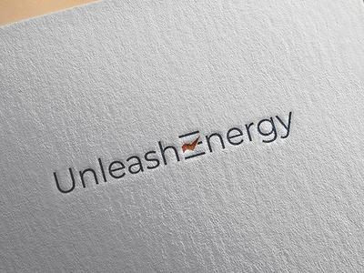 Unleash Energy logo design