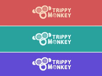 Trippy Monkey Logo 🐵