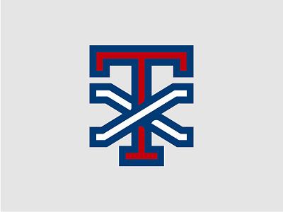 TX blue vector illustration white red sports logo pride texan tshirt monogram america shirt branding logo state